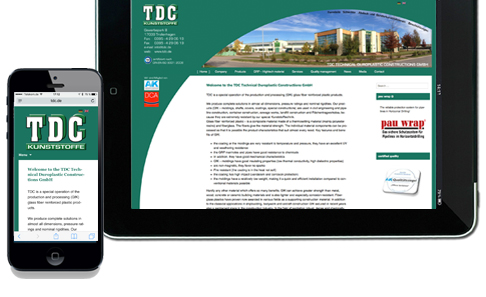 Webdesign_TDC-GmbH_responsive_Design
